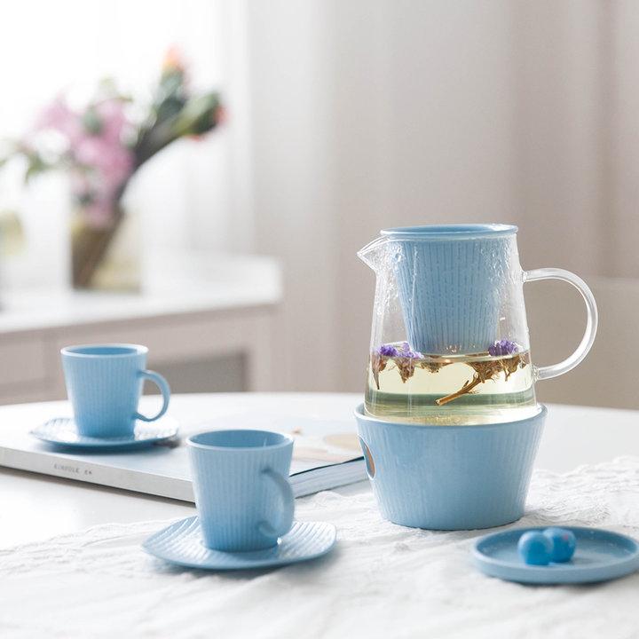 彩泥系列茶壶套装图片