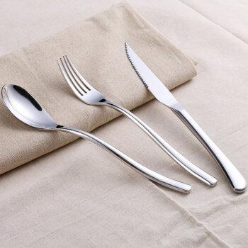 拜格BAYCO·不锈钢刀叉勺三件套图片
